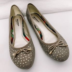 🦩2/$25 Arizona Jeans / Studded ballet flats